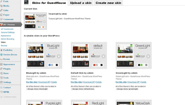 guesthouse skins provides available skins such as redlight,greenlight,purple light etc