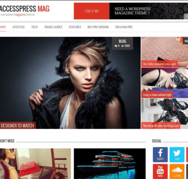 AccessPress Mag – Simple and perfect Magazine theme