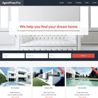 AgentPress Pro - Real Estate Genesis theme