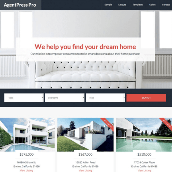 AgentPress Pro – Real Estate Genesis theme