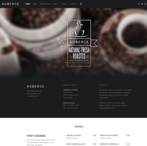 Auberge WP theme