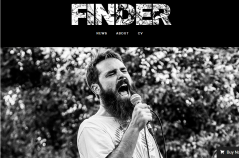 B+W News page of Finder theme