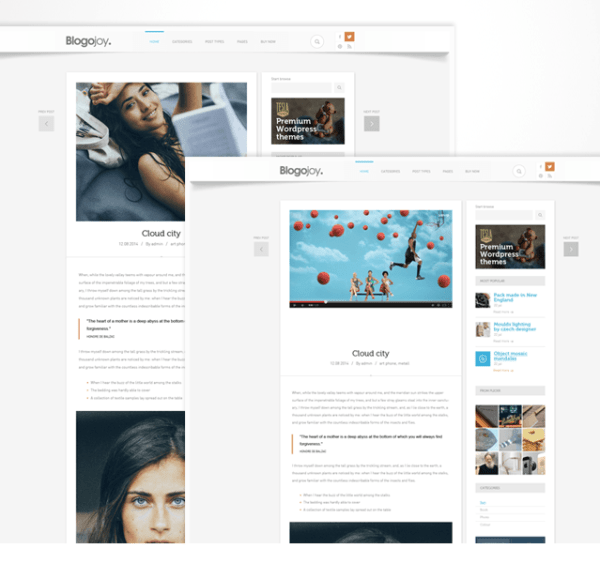 Blogojoy – Blog theme