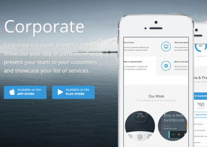 Corporate - WordPress Theme