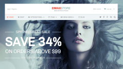 EmaxStore Home Page
