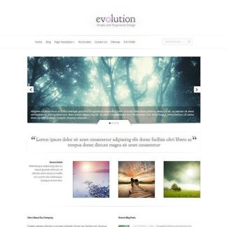 Evolution Homepage