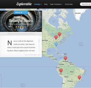 Explorable - Location based theme