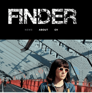 Finder - Mobile friendly blog theme and well suited for photographers too