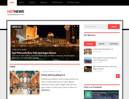 Front-Page on HotNews