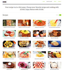 Icook is a FoodRecipe WordPress Theme