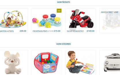 Kidshop- Shop page of this theme is elegant