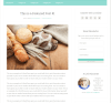 Lifestyle Pro- Page layout with content and right sidebar