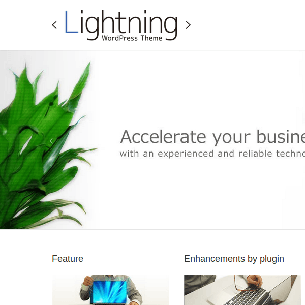 Lightning – WordPress Theme