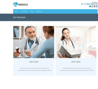 Medica Pro - Health WordPress theme