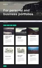Modern-Free-portfolio-WordPress-theme