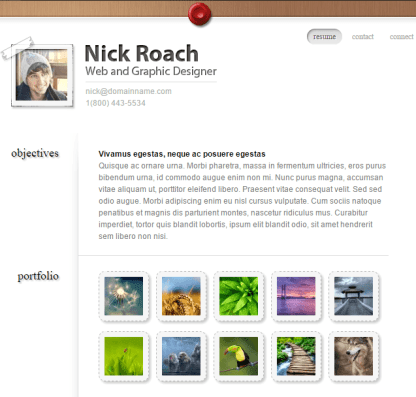 MyResume- A WordPress theme with Professional and sophisticated online presence