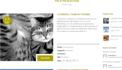 Petshopper- Blog page with small image layout