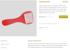 Petshopper- Product details page layout supported by this theme