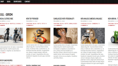 Pinshop- Fullwidth blog layout with 5 column grid