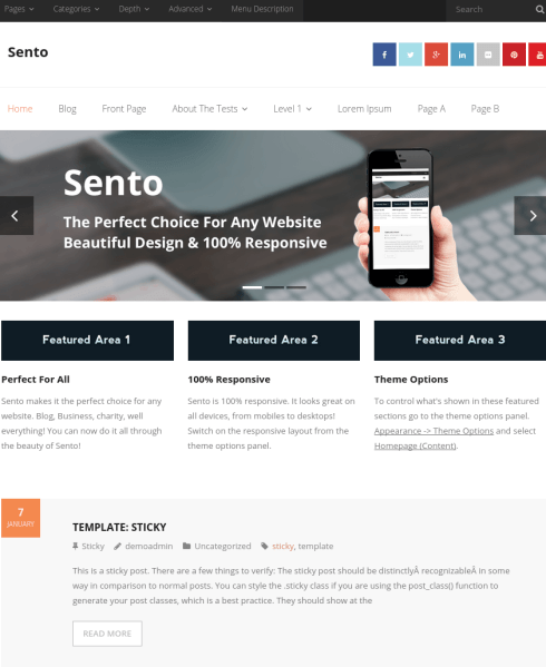 Sentco-WordPress-theme