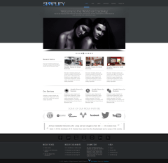 Simplify Complete Home Page