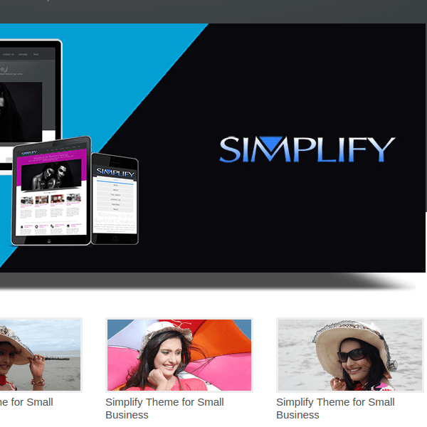 Simplify – WordPress Theme