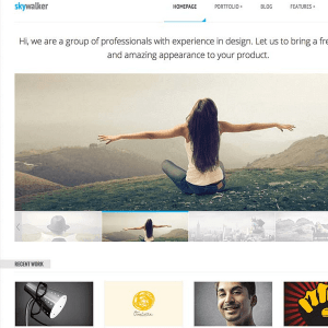 SkyWalker - Responsive WordPress Theme