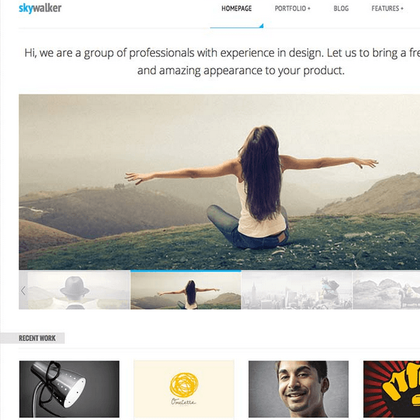 SkyWalker – Responsive WordPress Theme