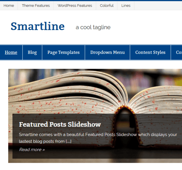 Smartline – WordPress Theme
