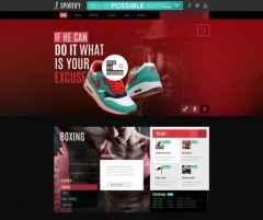 Sportify-WordPress-Theme