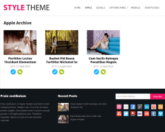Style Apple Page