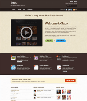 Suco - The first Business theme