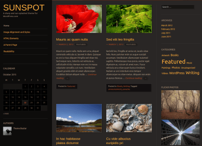 Sunspot Home Demo Page