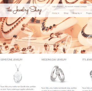 The Jewelry Shop- A luxurious and elegant theme to sell your products