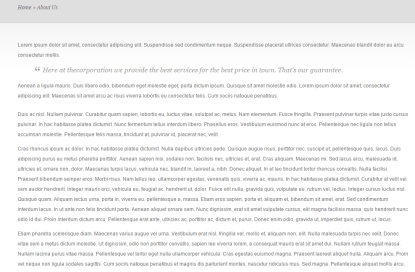 TheCorporation- Fullwidth page template of this theme