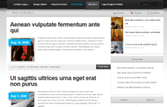 TheSource- Blog,  news page layout