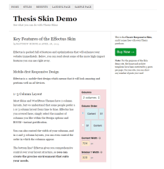 Thesis- Classic responsive skin of this theme