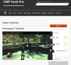 Video-Tutorial-WordPress-theme