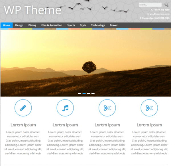 The WP is a elegant multipurpose and responsive WordPress theme