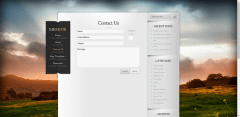Memoir-contact-form-WordPress-Theme