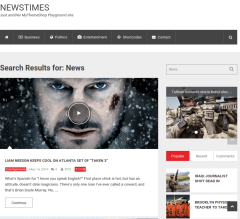 WordPress-theme-Newstime-WordPress