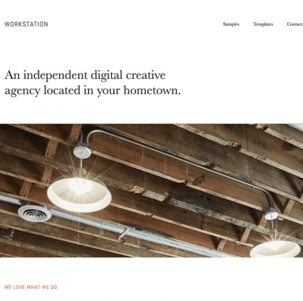 Workstation Pro – Creative agency WordPress theme