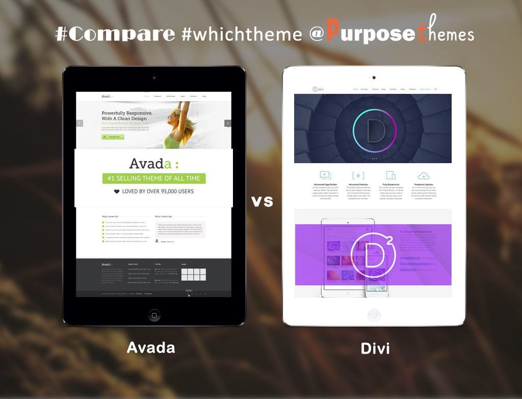 Avada and Divi Theme Comparison