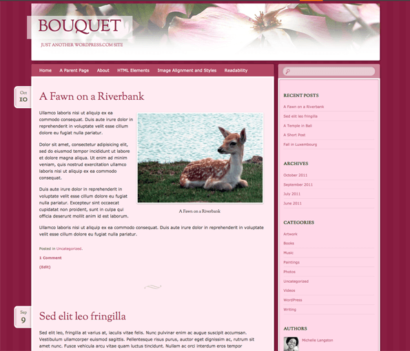 bouquet-showcase-WordPress-Theme