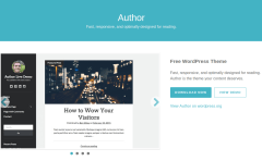 Author Theme Page