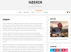 Azeria Categories Page