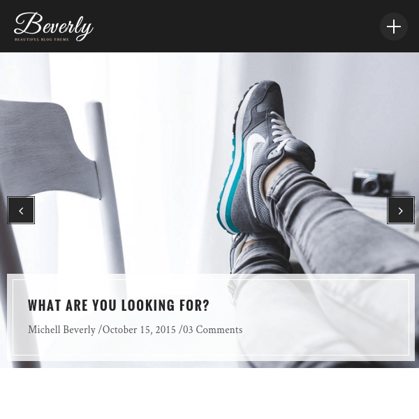 Beverly – Modern WordPress Blog Theme