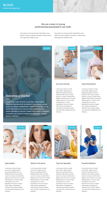 Blog Page of Medical