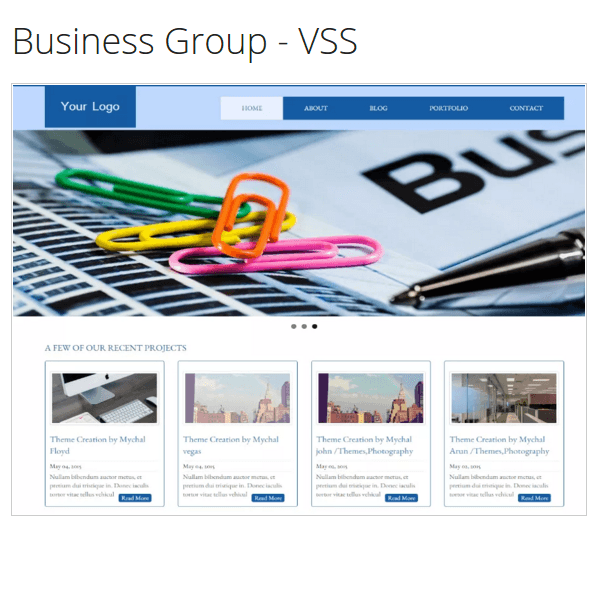 Business Group – VSSBusiness Group – VSS WordPress Theme
