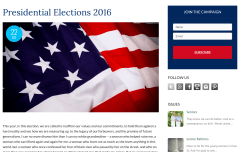 Campaign Blog Page